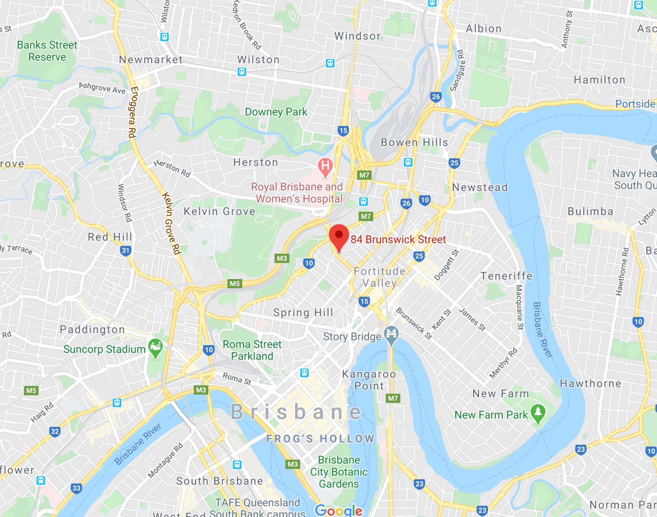 Our Location In Brisbane