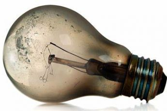 Burnt lightbulb