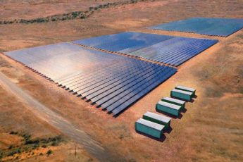 A Solar Farm In Outback Australia