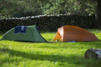 Two Setup Tents